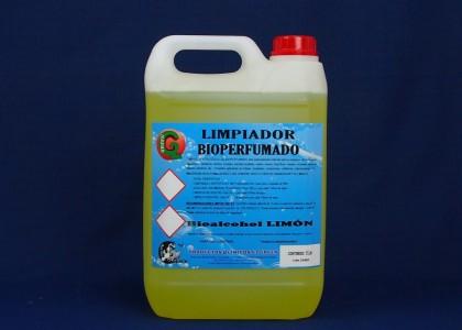 LIMPIADOR BIOPERFUMADO LIMON